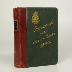 náhled knihy - Almanach sněmu království Českého (1895-1901)