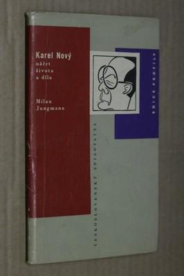 náhled knihy - Karel Nový : Náčrt života a díla