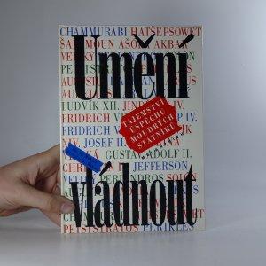 náhled knihy - Umění vládnout