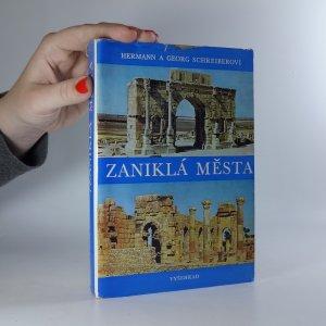náhled knihy - Zaniklá města