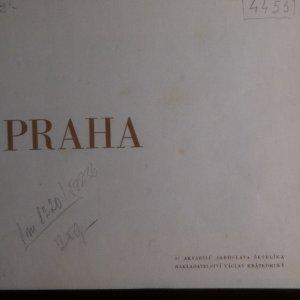 antikvární kniha Praha. 32 akvarelů Jaroslava Šetelíka, neuveden