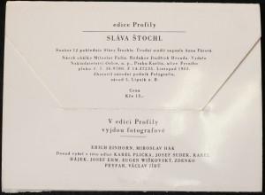 antikvární kniha Sláva Štochl: Soubor 12 pohlednic Slávy Štochla, 1963