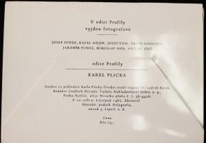 antikvární kniha Karel Plicka: Soubor 12 pohlednic Karla Plicky, 1962