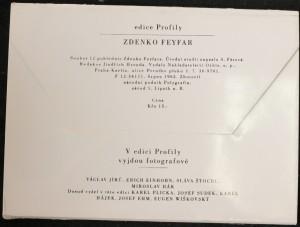 antikvární kniha Zdenko Feyfar: Soubor 12 pohlednic Zdenko Feyfara (dvě pohlednice chybí!), 1963