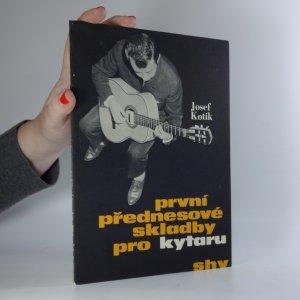 náhled knihy - První přednesové skladby pro kytaru