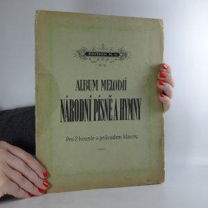 náhled knihy - Album melodií 1. Národní písně a hymny