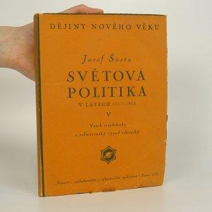 náhled knihy - Světová politika v letech 1871-1914
