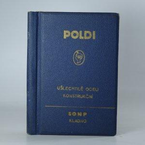 náhled knihy - Ušlechtilé oceli konstrukční Poldi