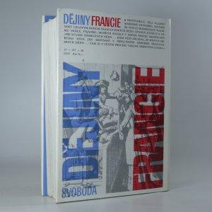 antikvární kniha Dějiny Francie, 1988