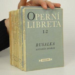 náhled knihy - 15x Operní libreta