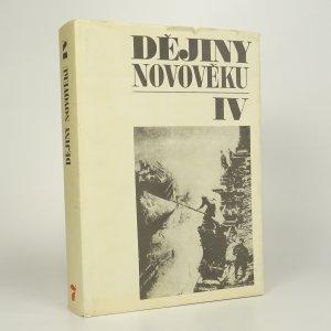 náhled knihy - Dějiny novověku IV.
