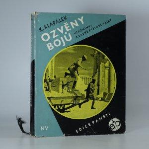 náhled knihy - Ozvěny bojů : Vzpomínky z 2. světové války