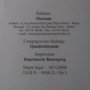 antikvární kniha Côté Maroc, neuveden
