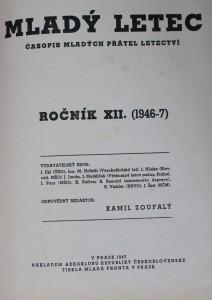 antikvární kniha Mladý letec (1946-7), 1947