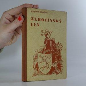 náhled knihy - Žerotínský lev