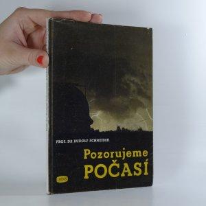 náhled knihy - Pozorujeme počasí