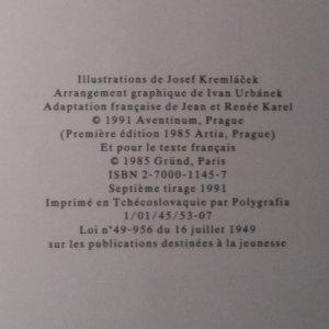 antikvární kniha Légendes et contes des pharaons, 1986