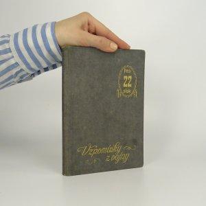 náhled knihy - Vzpomínky z vojny. 22. pěší pluk (Památník)
