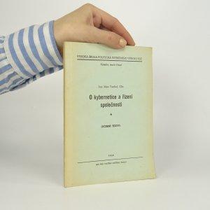 náhled knihy - O kybernetice a řízení společnosti