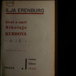 antikvární kniha Život a smrt Nikolaje Kurbova, 1926