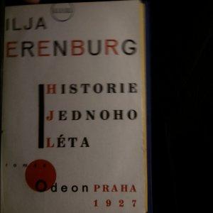 antikvární kniha Historie jednoho léta, 1927