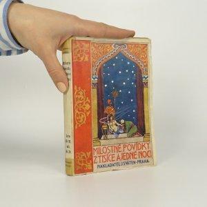 náhled knihy - Milostné povídky z Tisíce a jedné noci. Nekompletní
