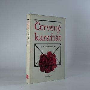 náhled knihy - Červený karafiát