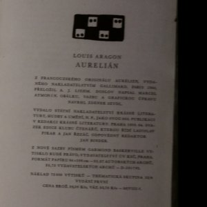 antikvární kniha Aurelián, 1958