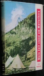 náhled knihy - Mein Zelt stand am Matterhorn