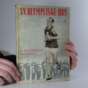 náhled knihy - XV. olympijské hry