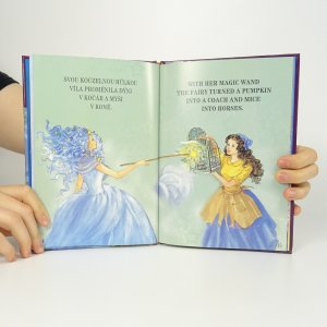 antikvární kniha O Popelce. Cinderella, 2010