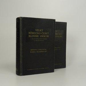 náhled knihy - Velký česko-německý slovník Unikum