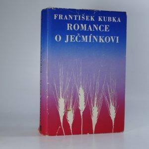 náhled knihy - Romance o Ječmínkovi