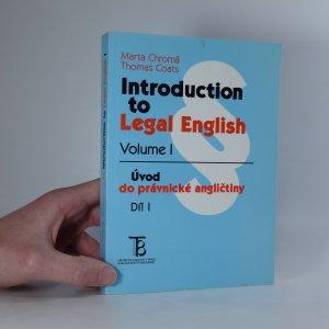náhled knihy - Introduction to Legal English. Úvod do právnické angličtiny.