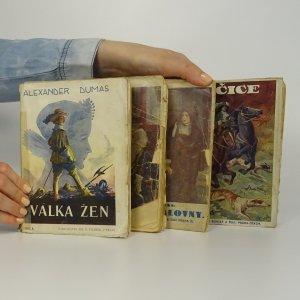 náhled knihy - 4x Alexandre Dumas. (Vypsáno v poznámce)