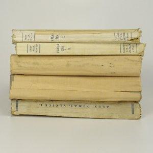 antikvární kniha 4x Alexandre Dumas. (Vypsáno v poznámce), 1925, 1926