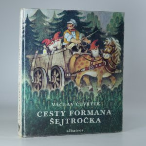 náhled knihy - Cesty formana Šejtročka