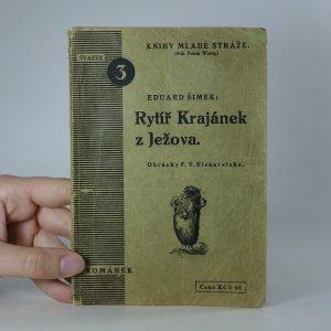 náhled knihy - Rytíř Krajánek z Ježova