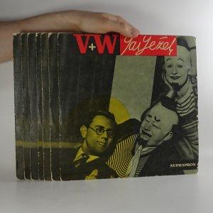 náhled knihy - Jaroslav Ježek - V + W, dokumentární snímky z repertoáru Osvobozeného divadla 1928-38 (7x EP)
