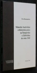 náhled knihy - Německá vlastivědná a historická práce na Šumperku a Zábřežsku do roku 1945