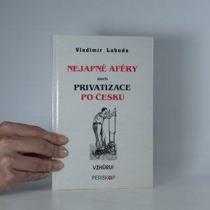 náhled knihy - Nejapné aféry aneb Privatizace po česku