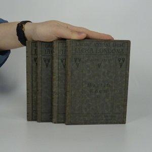 náhled knihy - Martin Eden I. - IV. díl. Z mého života. (5 knih v čtyřech svazcích)