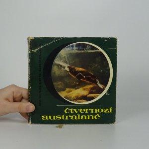 náhled knihy - Čtvernozí Australané. Dobrodružství se zvířaty a lidmi pátého světadílu