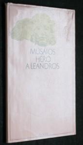 náhled knihy - Héró a Leandros