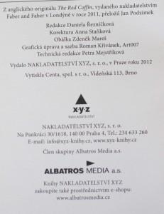antikvární kniha Rudá rakev , 2012