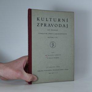 náhled knihy - Kulturní zpravodaj, ročník I. (II.)
