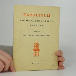 náhled knihy - Karolinum. Chlouba university Karlovy.