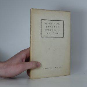 náhled knihy - Pankrác Budecius, kantor