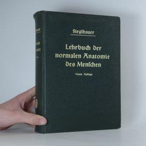 náhled knihy - Lehrbuch der normalen Anatomie des Menschen
