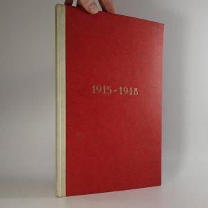 náhled knihy - Dokumenty 1915-1918 (výtisk č. 105, podpis Ota Matoušek )